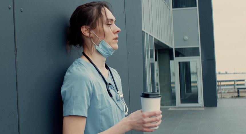 tired nurse - work life balance